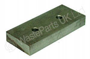 Retaining Plate for Plastic Guide Strip