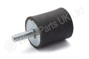 Metal/Rubber Buffer 25mm ODM6 thread