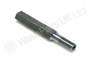 Grease Extension Adaptor M10 x 86mm