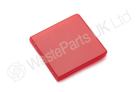 Red Switch label for Rocker switch