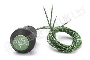 Push Button Green 'Begin Cycle'