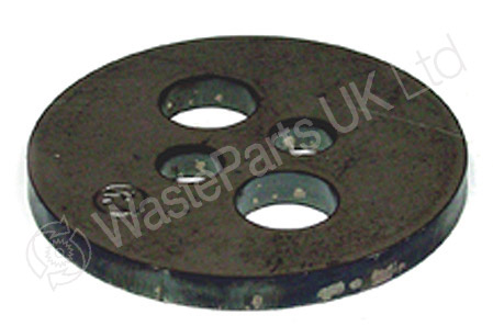 Capping Plate 90mm OD x 8mm thick with 4 drilled holes