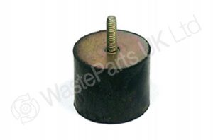 Rubber Metal Buffer with M10 thread for Frontloader MSTS