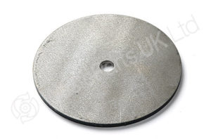 Steel Disk 135 x 5mm with drilled hole