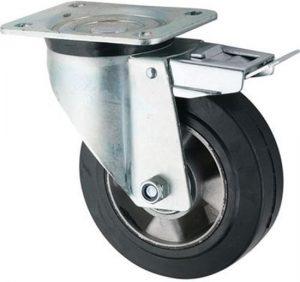 Food Pod Castor Wheel Swivel Braked