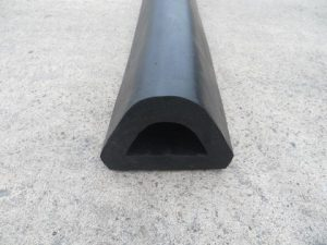 Rubber Extrusion 95 x 82 x 3000 mm