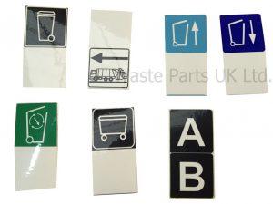 Set of Label Strips